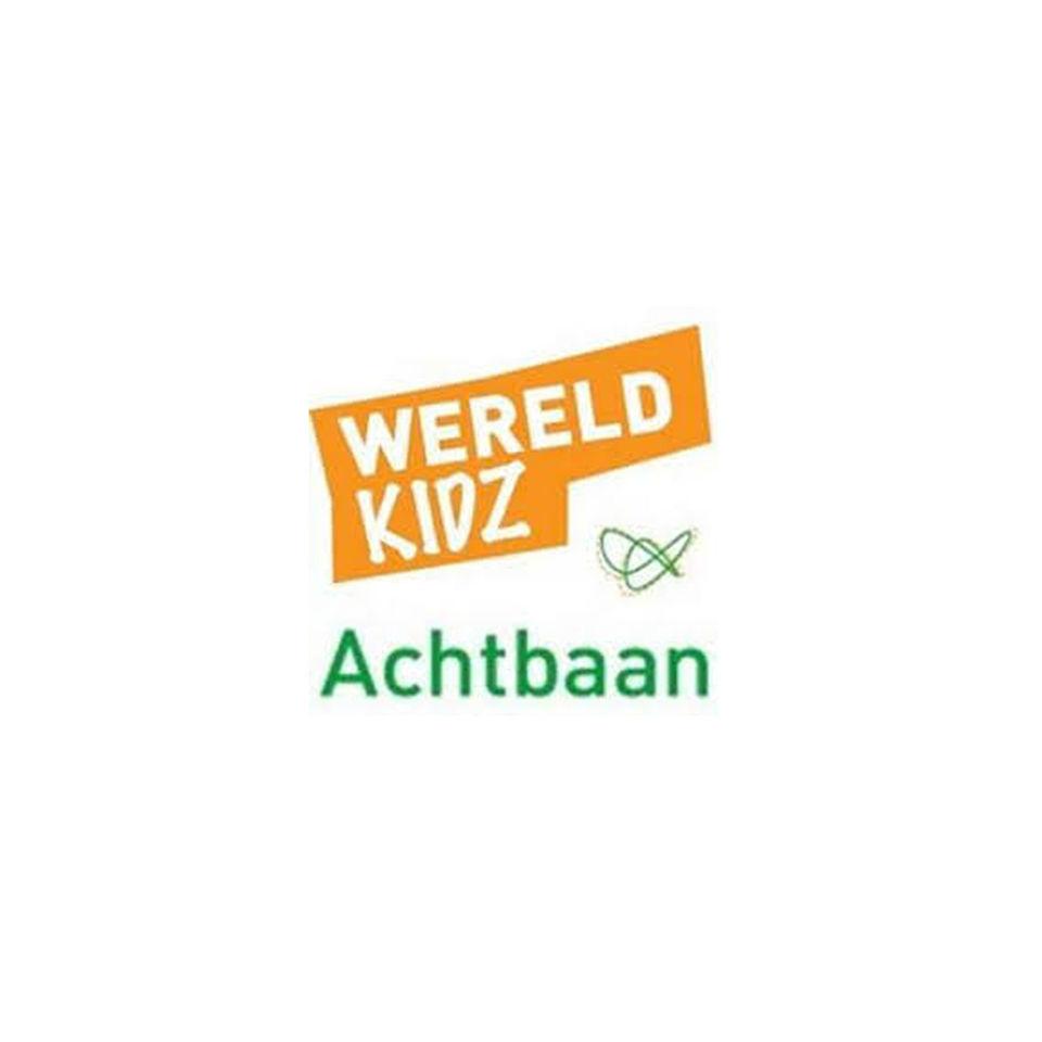 Logo basisschool Wereldkidz Achtbaan